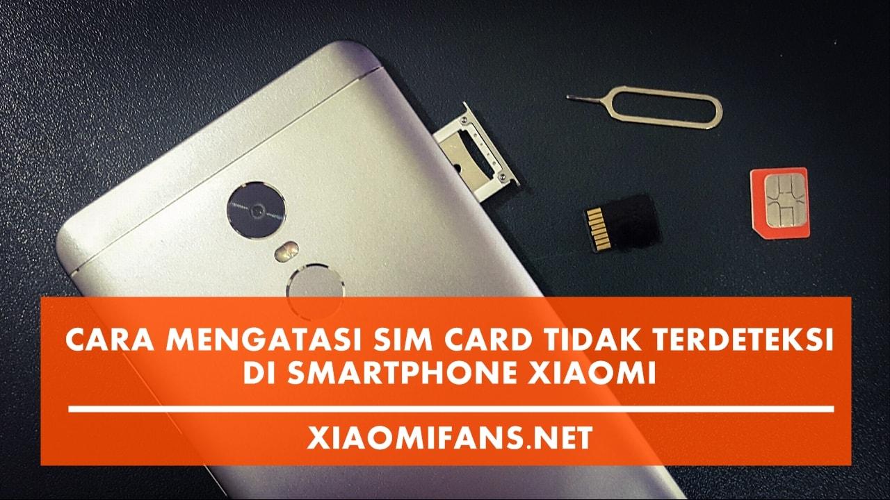 SIM Card Xiaomi Error