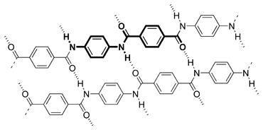 Ikatan molekul aramid