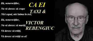 Taxi Ca ei ba nenorocitilor Rebengiuc