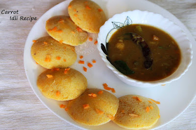 carrot idli perfect idli recipe indian breakfast