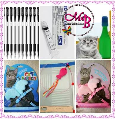 KFC, Astro Circle dan Shopping Di Lazada, Shopping Di Lazada - Disember 2018, Pen, Syringe, Car Harness, Mainan Kucing, Ubat Kutu Kucing,