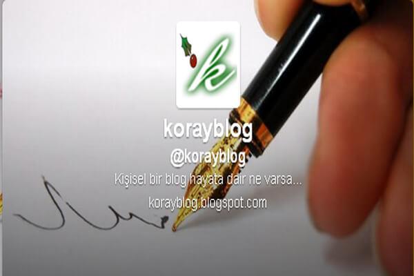 koray blog kişisel blog tanıtım yazısı