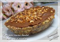 http://gourmandesansgluten.blogspot.fr/2015/02/tarte-poire-marron-chocolat-croute-noix.html