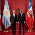 Peña y Dujovne encabezaron una reunión bilateral en Chile