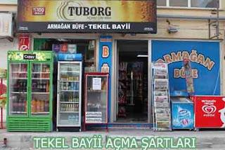TEKEL BAYİ AÇMA ŞARTLARI, GEREKLİ BELGELER