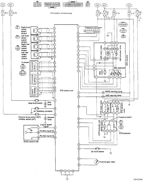 nissan hr 15 engine wiring diagram