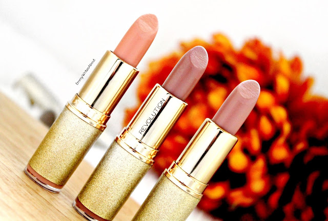 Makeup Revolution Life On The Dance Floor Lipsticks