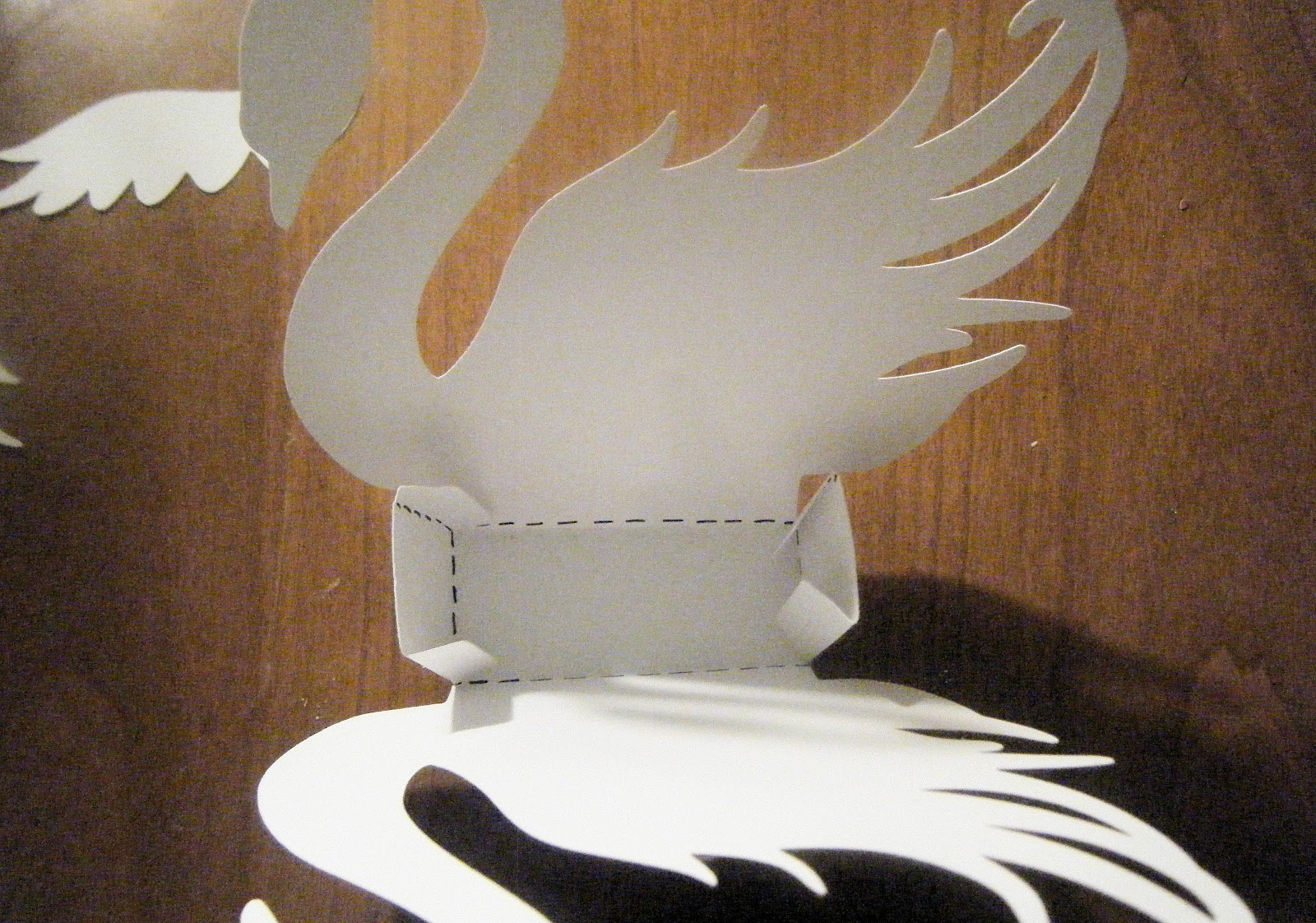 She S A Sassy Lady Swan Gift Box Tutorial With Cut Files
