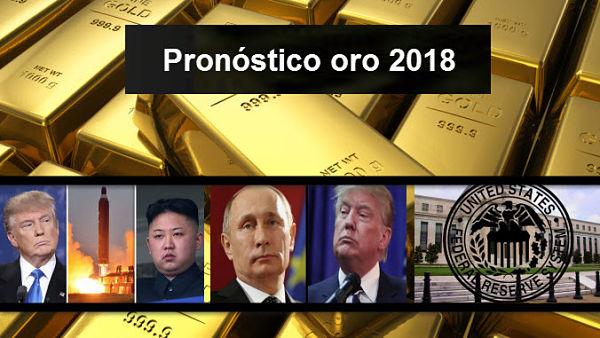 Pronóstico oro 2018