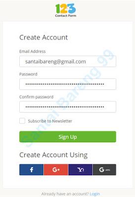 Cara Mudah dan Cepat Membuat Form Contact Us di Blog