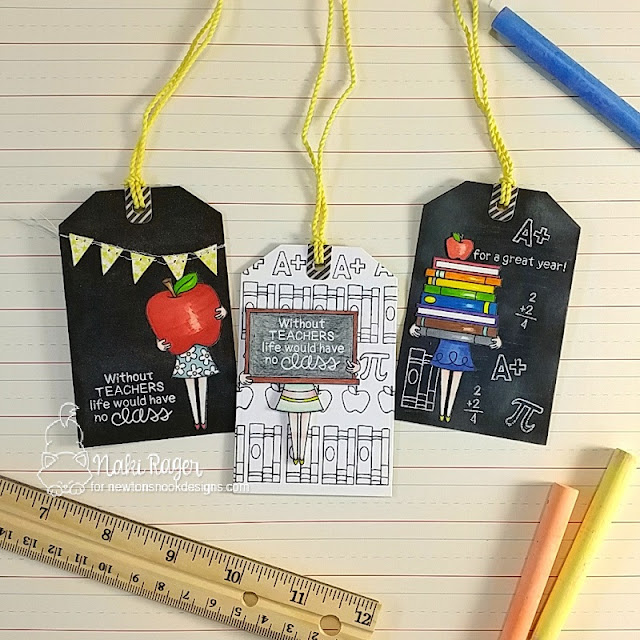 Newton's Nook Designs Classy Teachers Set - Naki Rager