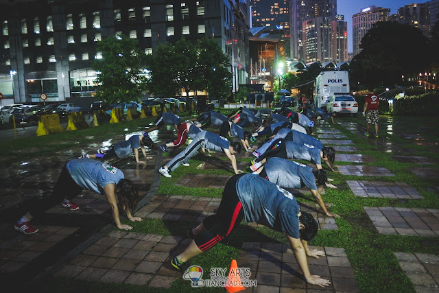 Bootcamp session @ KLCC Park