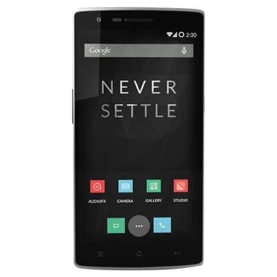 Spesifikasi dan Harga OnePlus One, Phablet Android Berteknologi 4G LTE RAM 3 GB
