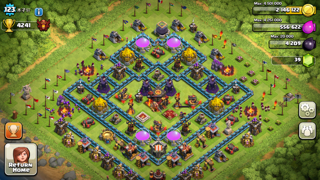 clash of clans free account 2017