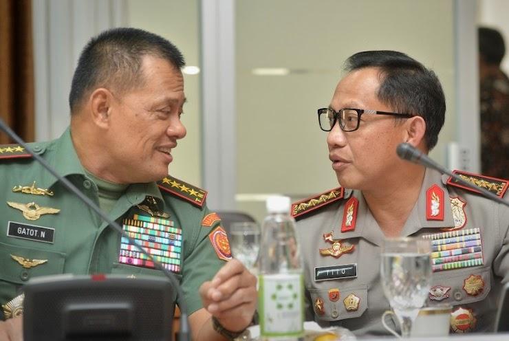 Lemkapi: Ada Yang Sengaja Benturkan TNI Dan Polri