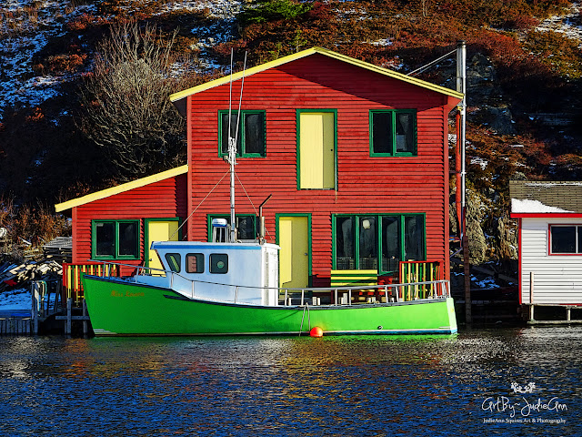 Quidi Vidi Houses, Thingamajigs & Boats Series of 6 Prints
