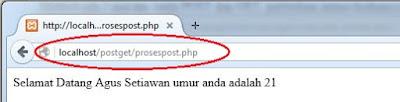Perbedaan Method Post dan Get dalam PHP