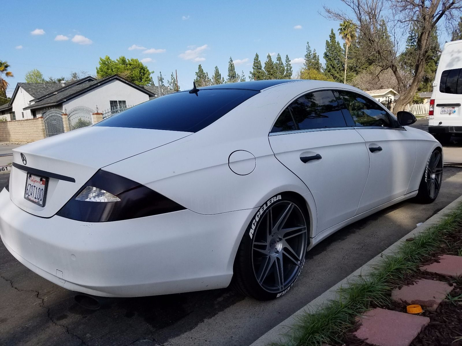 2006 Mercedes Benz Cls 500 >> 2006 Mercedes-Benz W219 CLS 500 on R20 Wheels | BENZTUNING