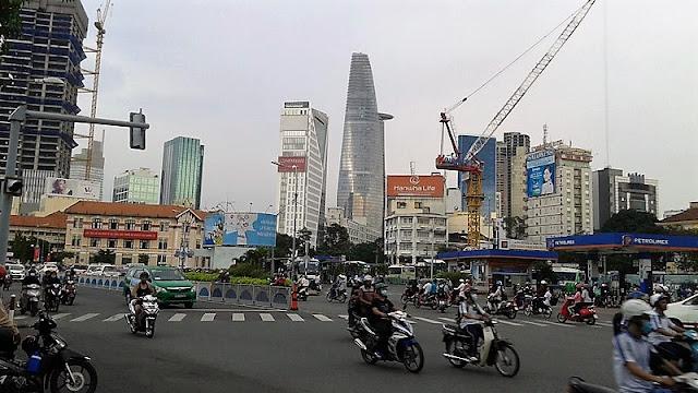 Tráfico en Saigón