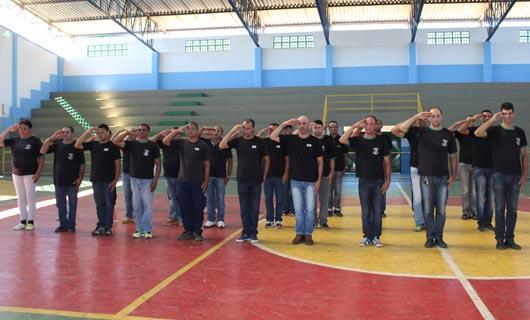 Prefeitura de Encruzilhada (BA) realiza apresentação da sua nova Guarda Municipal