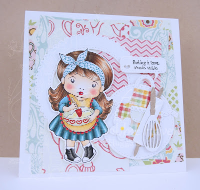 Heather's Hobbie Haven - Baker Marci Card Kit