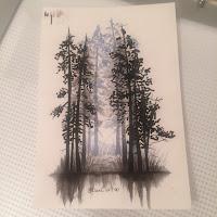 лес тату