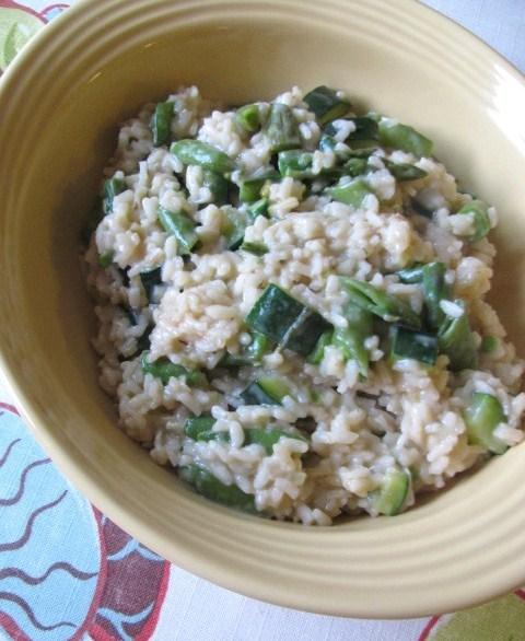 cucinare spring risotto