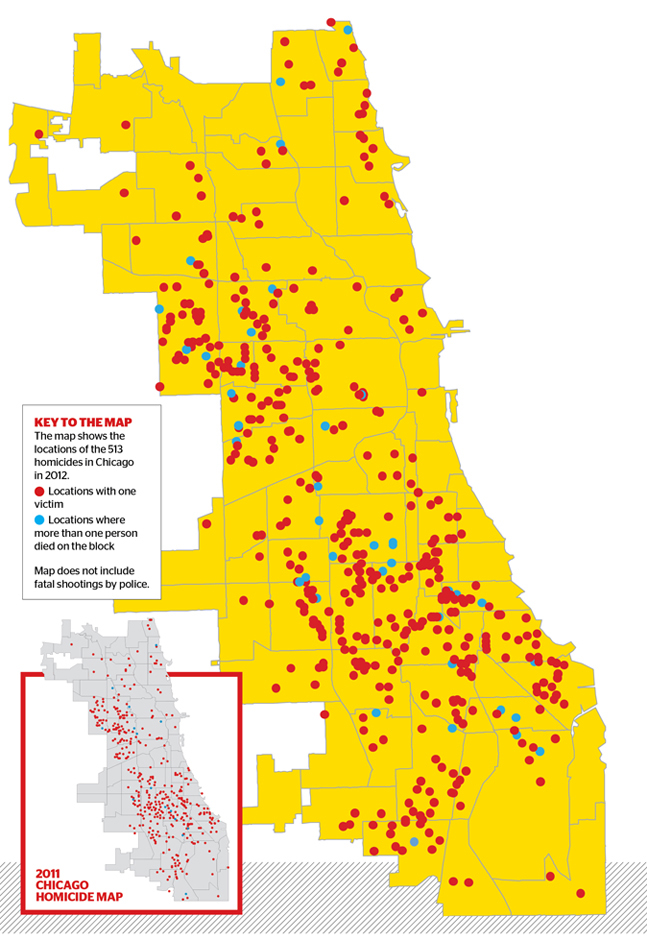 Shootings In Chicago Map.Killing Season Chicago