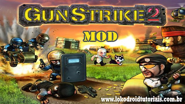 JOGO DE TIRO Gun Strike 2 Mod money infinito