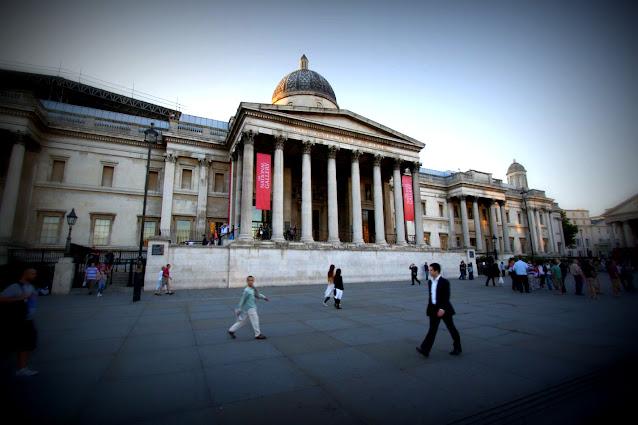 National gallery-Trafalgar square-Londra