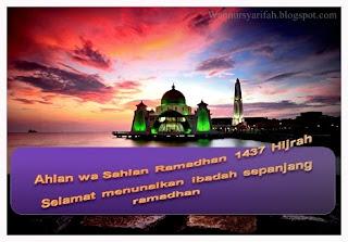 Memperbanyakan 4 Perkara Dibulan Ramadhan