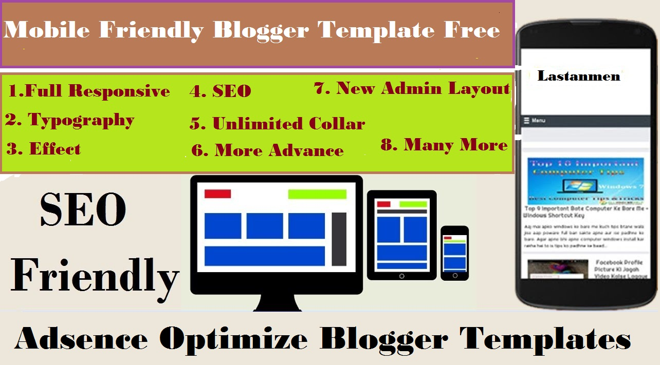 Free Blogger Templates Of 2018 19