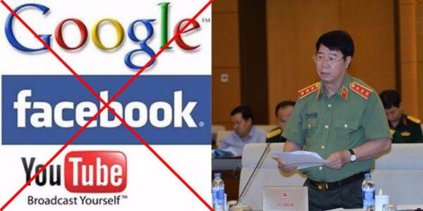 Neu du thao luat an ninh mang duoc thong qua thi facebook, google có rut khoi viet nam