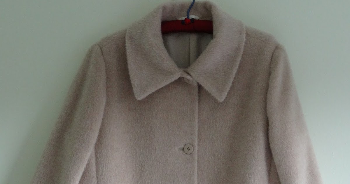 Marilla Walker Vintage Coat Rework