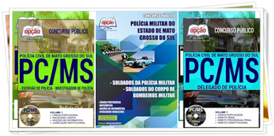Apostilas PC-MS perito da Polícia Civil de Mato Grosso do Sul