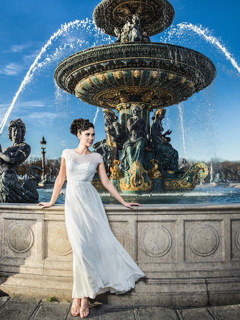 créatrice de robe de mariée fanny Liautard Paris