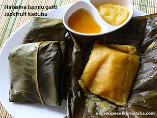 Halasina hannina gatti recipe in Kannada