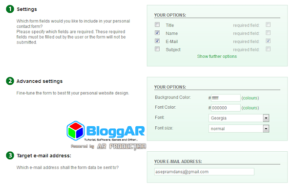 Cara Mudah Membuat Contact Form Blog Proteksi Recaptcha