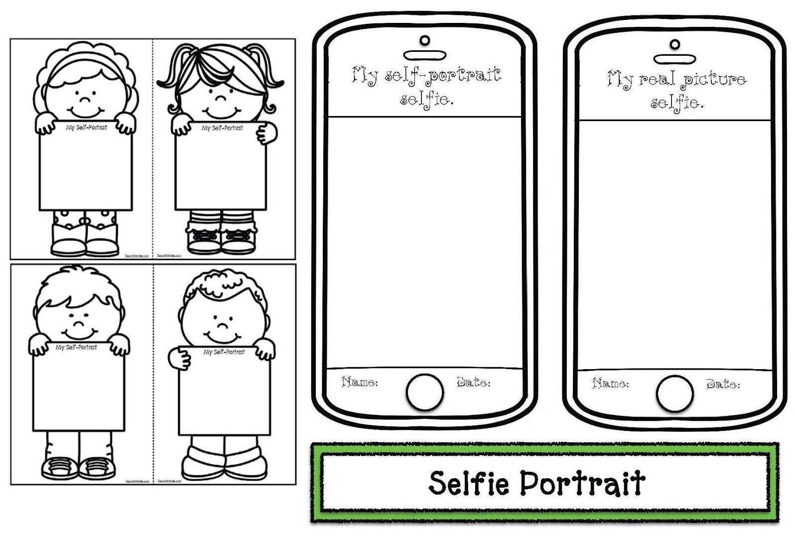 My Selfie Craftivity Packet