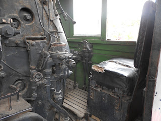 steam locomotive interior