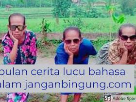 Kumpulan Cerita lucu Bahasa Jawa Percakapan Koplak Bikin Ngakak - Responsive Blogger Template