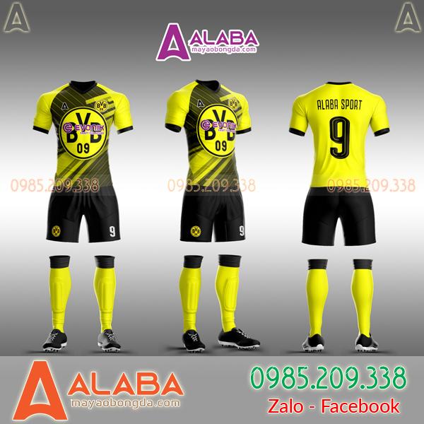 Áo CLB Dortmund 2019 tự thiết kế mã ALB DO02