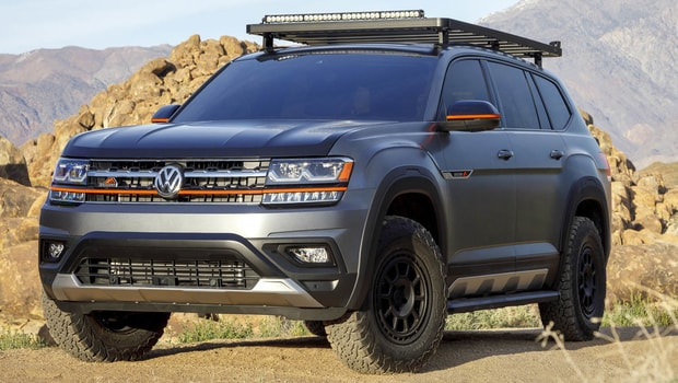 Volkswagen Atlas Bayes comp 2019 - Crossover for mountain roads