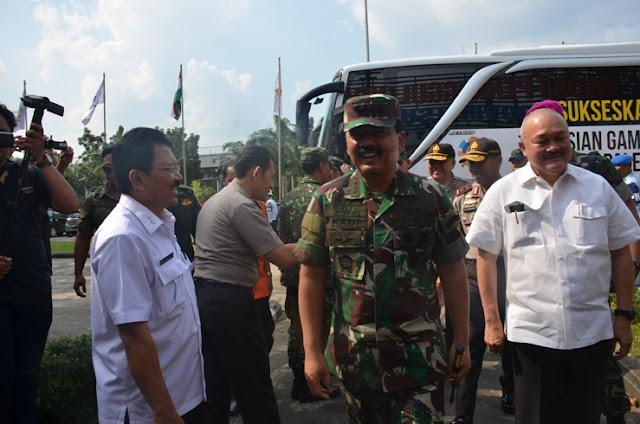 Panglima TNI, Karhutbunla Harga Diri Bangsa Di Pertaruhkan
