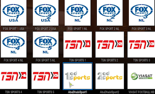 Football streaming channel on Gobble Addon Kodi