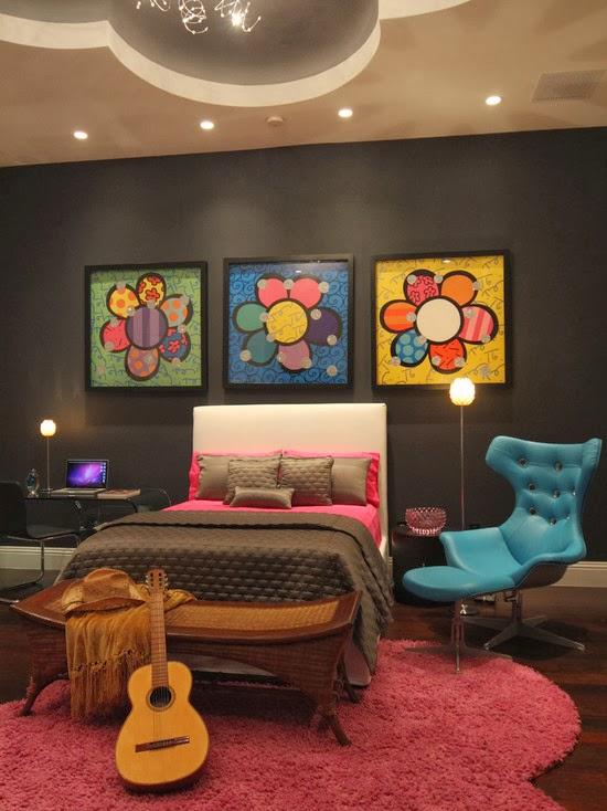Propostas de decoração de quartos para adolescentes