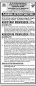 Jobs in University of Karachi
