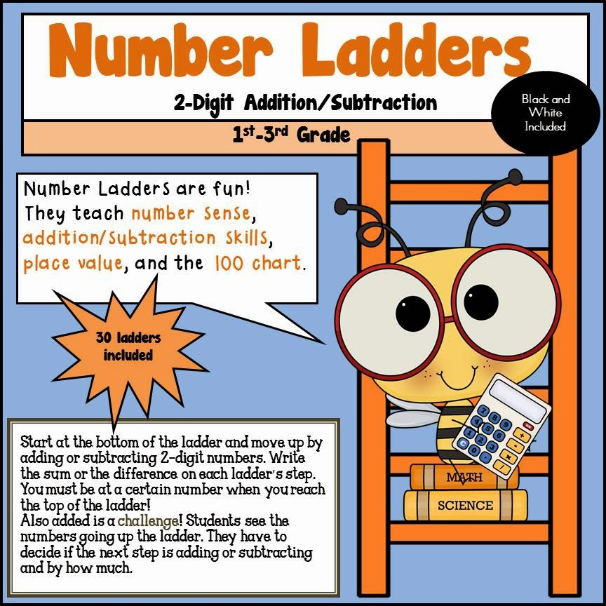 Number Ladders 2_Digit Addition and Subtraction