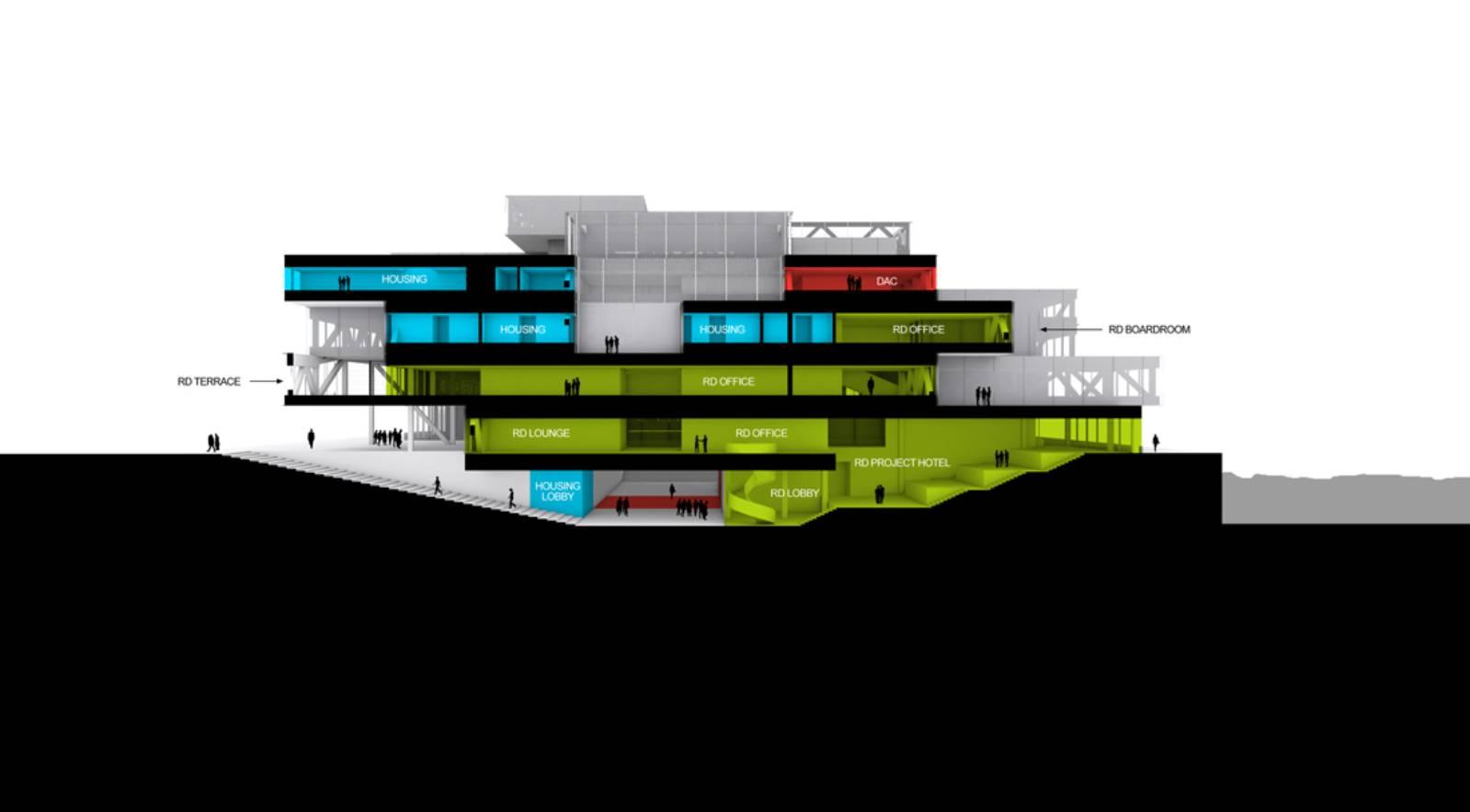 CONSTRUCTION BEGINS OF BRYGHUSPROJEKTET BY OMA | A As