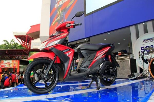 Pilihan Warna Baru Mio Z Merah Super